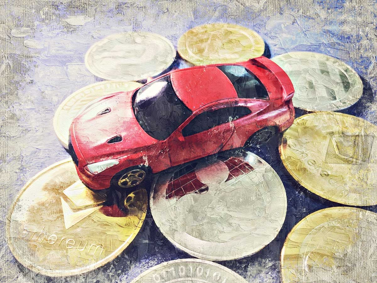 cryptocurrency and automobile